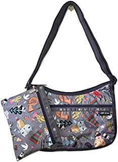 LeSportsac Donna Wilson Singing In The Woods Classic Hobo Bag + Cosmetic Bag, Style 7520/Color G372