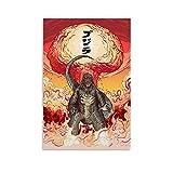 ERQN Godzilla Poster, coole Raumdekoration für Männer,