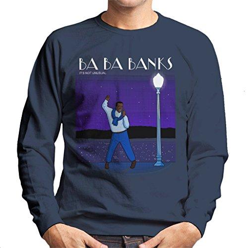 Fresh Prince of Bel Air La La Land Carlton Banks Mix Men's Sweatshirt