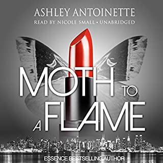 Moth to a Flame audiobook cover art