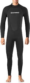 2mm Neoprene Full Body Dive Wetsuit Rash Guard for Men Women UV Protection Swimwear for Snorkeling Surfing Scuba Diving Sw...