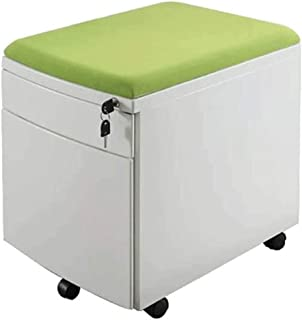 File Cabinet Folders, File Cabinet,Filing Cabinet,Mobile File Cabinet with 2 Drawers Lockable Steel Pedestal with Suspension File Hanging Rails, Fully Assembled Except Casters