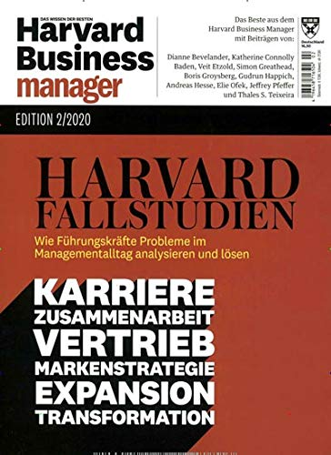 Harvard Business Manager Edition 2/2020