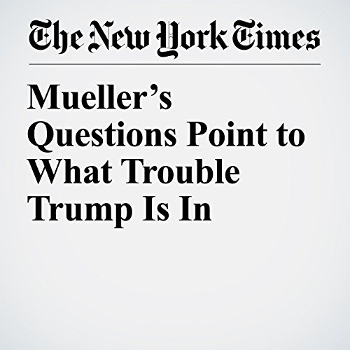 Mueller's Questions Point to What Trouble Trump Is In copertina