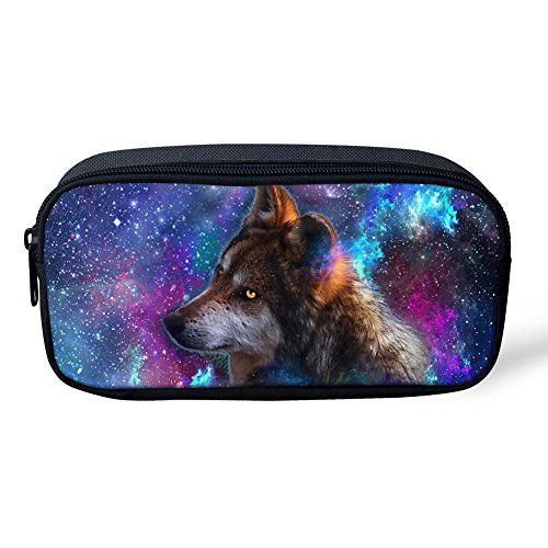 nopersonality Cool Galaxy Tiere Federmäppchen Stifthalter Schule Office Supplies Funny galaxy animal print2