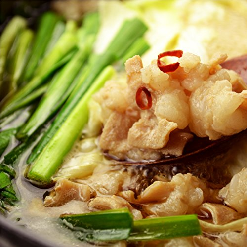 焼肉中村屋 (小腸厳選もつ鍋)セット ホルモン300g 醤油スープ1L ちゃんぽん麺2食