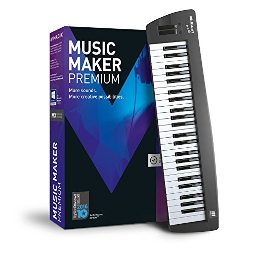 MAGIX Music Maker – 2017 Control Edition – USB-Keyboard inkl. Musiksoftware