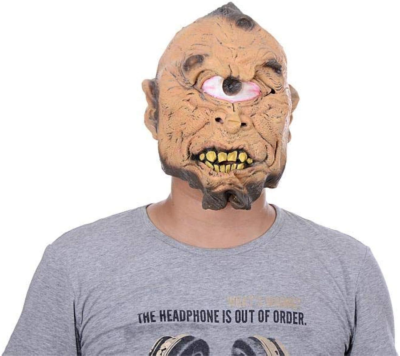 Littlefairy Maske,Halloween Latexmaske Bar Ball Monokular Horrormaske B07HSYN86C Bevorzugtes Material    | Spielzeugwelt, spielen Sie Ihre eigene Welt