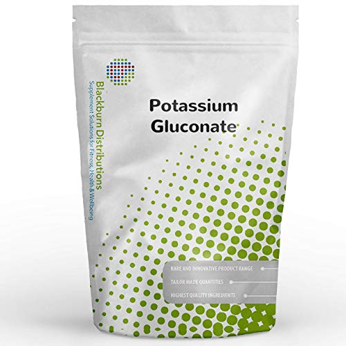 Potassium GLUCONATE 1KG - Muscle Growth, Energy, Synthesis of PROTEINS