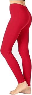 JKC USA Selected Premium Cotton Full Length Solid Color Leggings Various Colors OP-1851