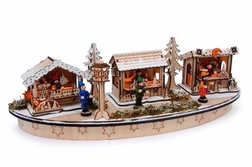 Small Foot Company Lampada «Mercatino di Natale» Lampada «Mercatino di Natale», Nature,