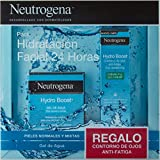 Neutrogena Hydro Boost Pack Hidratación Facial 24 horas, Gel de Agua Hydro Boost 50ml y Contorno de Ojos Anti,Fatiga 15ml
