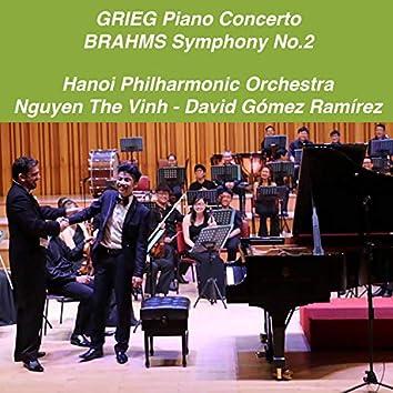 Grieg: Piano Concerto in A Minor, Op. 16 - Brahms: Symphony No. 2 in D Major, Op. 73