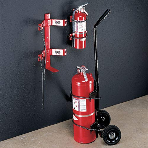 Amerex Fire Extinguisher Bracket, 30 lb, Red