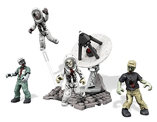 Mega Bloks Call of Duty - Collector Construction Set of 4 - Zombies Moon Mob (Cng79)