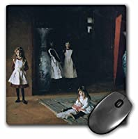 3drose The Daughters ofエドワード・D Boit 1882by John Singer Sargentマウスパッド(MP 169719_ 1)