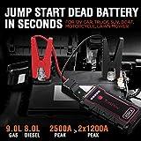 Zoom IMG-1 avviatore batteria auto 2500a jump