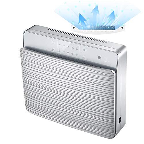 SUNSHINE HOME&3 Luftreiniger, Wand-UV-Desinfektion, Geruchsentfernung zusätzlich zu PM2.5-Formaldehyd,Silver