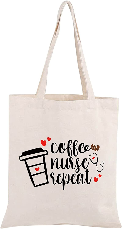 Nurse Shopping Bag Nurse Tote Bag Nurse Gift for RN Nurse Student Graduation Gift Nurse Canvas Tote Bag