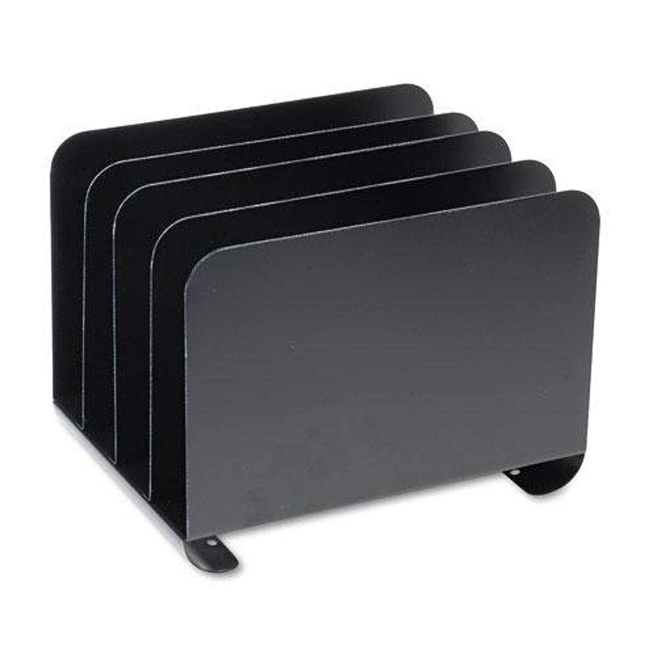 容量アカデミー風が強いMMF 2644BLA Steel Vertical Organizer 4 - Comp - Black