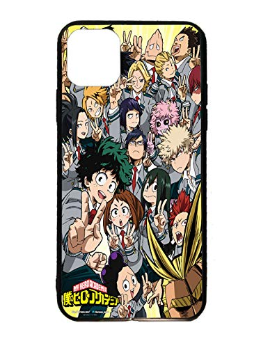 JNKPOAI Compatible with iPhone 12 Case My Hero Academia Shockproof Drop Protection Case for iPhone 12 (My Hero Academia)