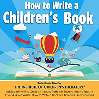 How to Write a Children's Book cover art
