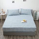 Xiaomizi Ropa de cama elegante, suave y fácil de cuidar, antiarrugas y no destiñe, puede acomodar una cama doble.