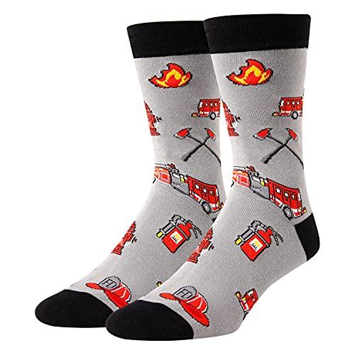 Novelty Fireman Socks