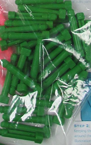 Knitting Loom Replacement Pegs, Loom Pegs, Lost Extra Pegs, 20 Pack, Green