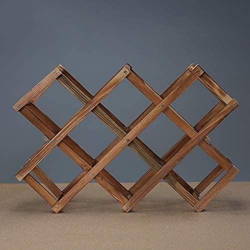 Limited time cheap sale Huoqilin Solid Wood Wine Rack Super sale period limited Wooden Creative Display