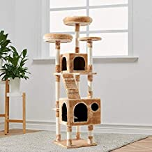 140cm Cat Tree Trees Scratching Post Scratcher Tower Condo House