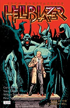 John Constantine, Hellblazer Vol. 8: Rake at the Gates of Hell (Hellblazer (Graphic Novels)) by [GARTH ENNIS, Steve Dillon]