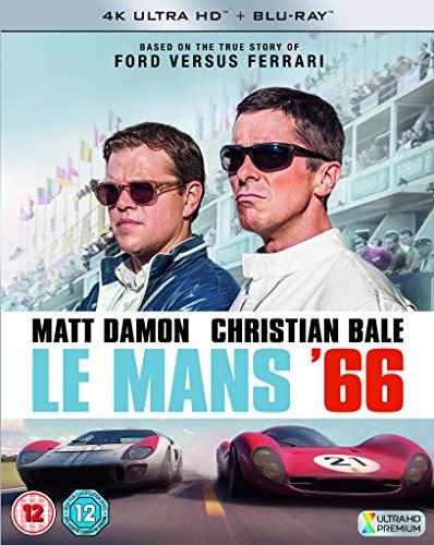 Le Mans 66 4K [Blu-Ray] [Region Free] (Audio français. Sous-titres français)