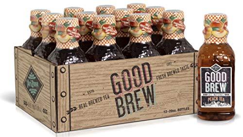 Arizona Tea   All Natural Good Brew Peach Tea & Organic Bottled Iced Tea   Organic Ingredients + Real Flavor