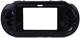 OSTENT Capa protetora colorida de metal de alumínio compatível com Sony PS Vita PSV PCH-2000 - Cor preta