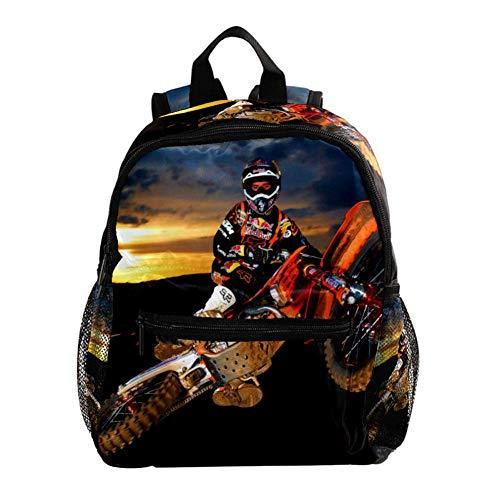 Motorrad Kinder Rucksack Leichte Schultasche Voller Druck Für Vorschulkind 3-8 Jahre Baby Tasche Windel Milchpulver Rucksack 25.4x10x30 cm