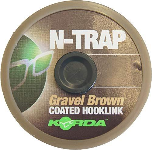 Korda N-Trap Soft 20m Vorfachschnur, Tragkraft:20lbs/9.1kg, Farbe:Gravel (Kies)