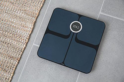 Fitbit Aria 2 Balance Wi-Fi Intelligente Compteur de Calories, Noir