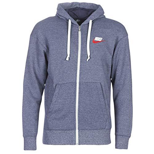 Nike M NSW Heritage Hoodie FZ Sweatshirts und Fleecejacken Hommes Marine - L - Sweatshirts