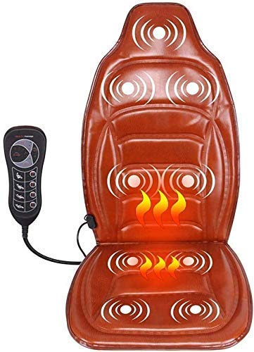 Elektrische shiatsu massage-apparaat voor auto, multifunctioneel, full-body stoelen, nekkussen, massageapparaat, verwarming, 12 V achter