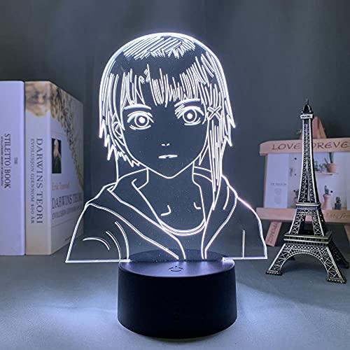 Anime Light - Lámpara LED de experimentos en serie para decoración de dormitorio, regalo de cumpleaños, decoración de salón, mesa 3D