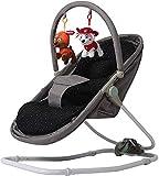 HUIYAN Columpio Rocker Swing Swing Cradle Shaker Silla | Silla de Mora Plegable y Confort con 3 ajustes de Engranajes | Artefacto de sueño bebé, Manos de la Madre Liberacion (Color : Gray)