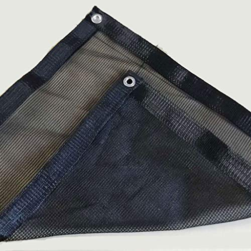 YUXO-COWER Filet D'ombrage Ombre Noire Filet Nouveau Matériau Perforation Écran Solaire Encryptage Net Sun Room Toit Ombrage Net Fleur Net Filet Ombrage (Size : 4x5m)