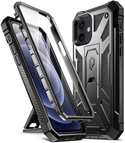 Poetic Spartan for iPhone 12 iPhone 12 Pro 6 1 inch Case Full Body Rugged Dual Layer Metallic product image
