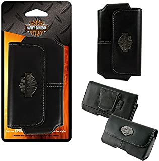 Harley Davidson Leather Magnetic Riding Case for Samsung Galaxy s4 Mini