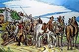 EDLSYPintura por números para Adultos y niños Kits de Regalo de Pintura al óleo DIY Arte de Lienzo preimpreso Decoración del hogar Pintura Arte Festival de la Cerveza (40x50 cm sin Marco)