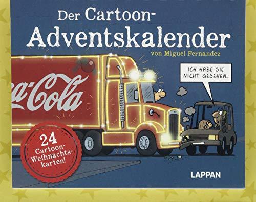 Fernandez - Der Cartoon-Adventskalender: Mit 24 Cartoon-Weihnachtskarten!