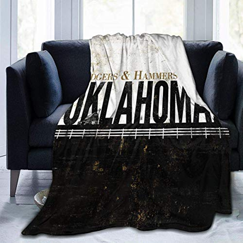 CHICHIHE Oklahoma Musical 2 Digital Printed Ultra-Soft Micro Fleece Blanket Soft Warm 50'x40'