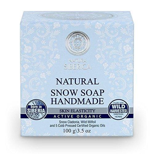 'Natura Siberica Active Organics 100% naturel Snow Soap – Hand Made \