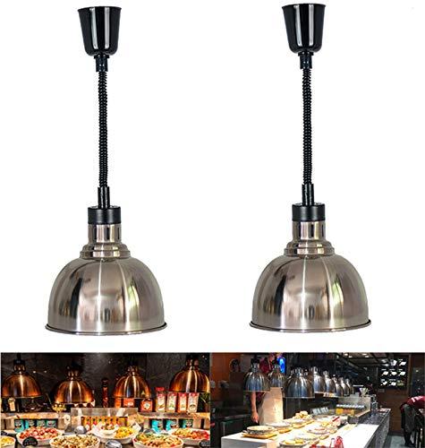 YDDHQ Lampe Chauffe-Plats, Lampe Chauffante Rétractable Portable pour Aliments, Accueil...